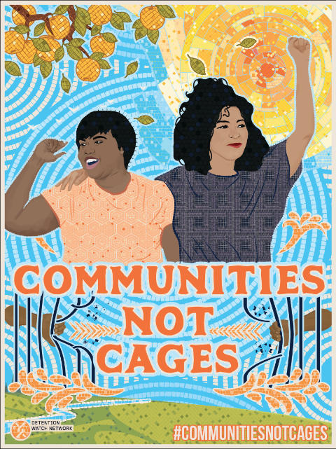 Communities Not Cages campaign video